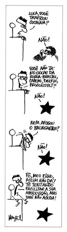 Henfil já pôs juiz julgando Lula no início dos anos 80 | GGN