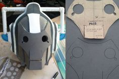 Cyberman Foam Patterns - Doctor Who Costumes - Props - Cosplay