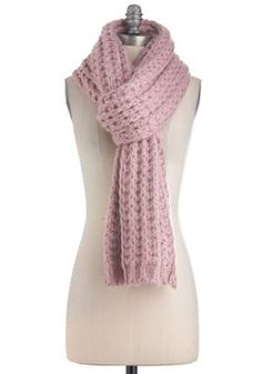 Cozy and Effect Scarf in Mauve, #ModCloth