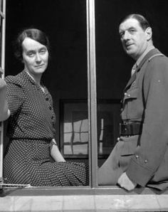 De Gaulle, joined in London by his wife, Yvonne, and two daughters, in 1940, was soon acknowledged as head of the Free French.