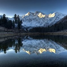 one of the highest mountain nanga parbat pakistan