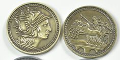 Metal coins - more fun! This pack is the ideal supplement to your game of choice. Increasing your fantasy funds can add depth to game play and open up the possibilities for new adventures! Pack contai