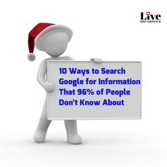 10 Ways to Search Information on Google