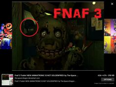 Isn't that mask from FNAF 2? Or it is another mask? Probably not