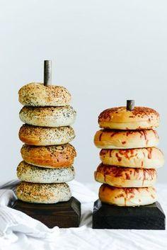 DIY Bagel Bar + Cream Cheese Recipes