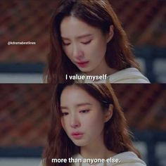 K Quotes, Self Love Quotes, Strong Quotes, Photo Quotes, Mood Quotes, Best Quotes, Quotes Drama Korea, Korean Drama Quotes, Asian Quotes