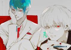 Voici plusieurs œuvres de l'auteur de Tokyo Ghoul, @sotonami ^^ (Partie 1)Partie 2 Partie 3