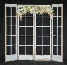French Door Backdrop Signature Party & Event Rental