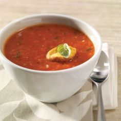 roasted tomato soup for 2