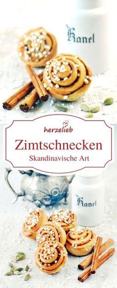 Zimtschnecken aus Schweden oder Dänemark sind keine einfachen Cinnamom Rolls! Denen fehlt nämlich im Rezept eine entscheidende Zutat, um echte Kanelbular zu sein! Der Kuchen als Fingerfood - von herzelieb