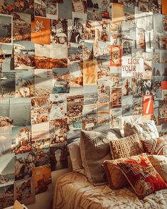 BEFORE AFTER We are so excited to announce our newest collage kit- the Coastal Kit! Just like the Original Collag. Decoration Inspiration, Room Inspiration, Dream Rooms, Dream Bedroom, My New Room, My Room, Poster Minimalista, Coastal Bedrooms, Retro Bedrooms