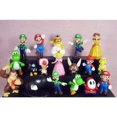 "18pcs Set 1-3"" Super Mario Bros Figure Toy Doll Pvc Figure Collectors By sanlise, http://www.amazon.co.uk/dp/B008OS7V48/ref=cm_sw_r_pi_awdl_SJZNtb0YHX1GV"