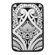 Polynesian / Maori tribal tattoo design MacBook Sleeve | Zazzle