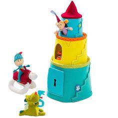 Castillo con peluches Walter y princesa Lilliputiens
