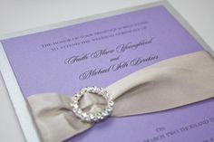 Elegant Wedding Invitation