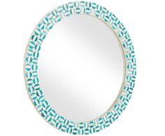 Entdecken Sie Wandspiegel Safi Türkis in Türkis, Weiß jetzt bei >> WestwingNow. Lassen Sie sich von weiteren Wandspiegeln von WESTWING inspirieren. Wandspiegel Safi Türkis in Türkis, Weiß   WestwingNow Turquoise Bracelet, Bracelets, Jewelry, Handmade, Deco, Jewlery, Jewerly, Schmuck, Jewels