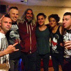 Kenny Leath y A7X (avenged sevenfold) 2013