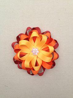 Halloween Hair bow Girl hair bow by ValartCreativeStudio on Etsy, $5.49
