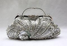 Beaded Clutches Purses Beaded Evening Bag Clutch Purse Satin Rhinestone Clutch Purse -demurebyj.com