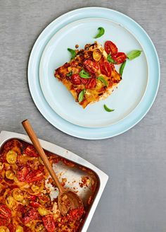 Paras koti-lasagne for ever Sweet And Salty, Something Sweet, Dinner Tonight, Ratatouille, Food Inspiration, Feta, Risotto, Chili, Veggies
