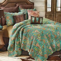 Western Pleasure Quilted Bedding Collection Western
