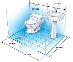 Small Half Bath Dimensions Click Image To Enlarge