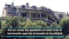 Terremoto en Italia:  El Hotel Roma de Amatrice, un símbolo reducido a escombros | Internacional | EL PAÍS