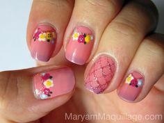 ! Maryam Maquillage !: May Flowers NailArt!