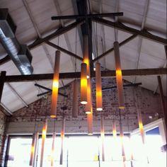 PVC pipe lighting