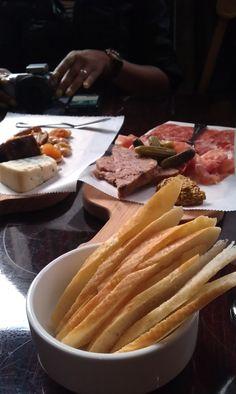 Dinner + drinks at Robust Wine Bar. Yum.