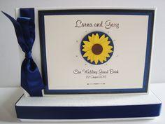 Sunflower Guest Book  www.ohsopurrfect.co.uk