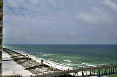 Balcony view of Navarre fishing pier and beach, courtesy of Dale E. Peterson Vacations Things To Do Nearby, Navarre Beach, Sandy Beaches, Balcony, Vacations, Condo, Places To Go, How To Memorize Things, Fishing