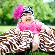 zebra with hot pink