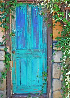 Rustic Old DoorFine Art PhotographyWall Arthome by carensilvestri.