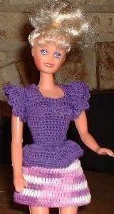 barbie doll crochet wardrobe pattern