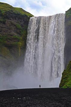 Islande - cascade de Skogarfoss