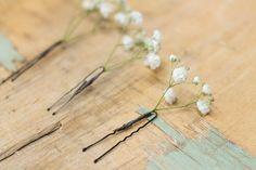 Epingles fleuries - Box Fleurs DIY mariage - collection Gypsophile Only du site OUI Fleurs