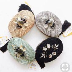 Diy Accessories, Crochet Accessories, Diy Fashion, Fashion Bags, Macrame Bag, Mini Handbags, Crochet Purses, Knitted Bags, Chrochet
