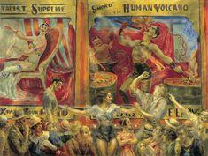 Smoko, el volcán humano - Reginald Marsh | Museo Thyssen