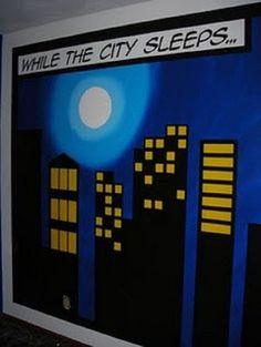 Superhero Wall Decor personalized batman superman room decor sign birthday gift i'm not