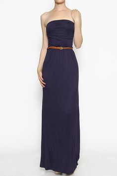 Navy Maxi Dress $26 Visit our website to purchase thechicshakboutique.com