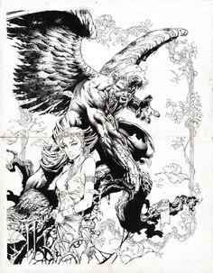 ASCENSION #1 COVER ( 1997, DAVID FINCH )