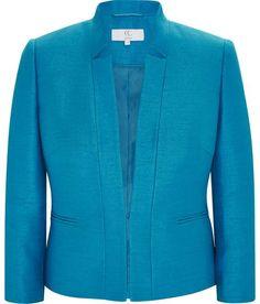 Petite Shimmer Tailored Jacket