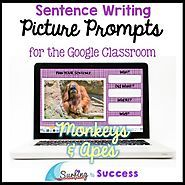 English Language Learners & Struggling Writers - Surfing to Success Opinion Writing Prompts, Picture Writing Prompts, Sentence Writing, Teaching Strategies, Teaching Writing, Teaching English, English Language Learners, Spanish Language Learning, Use Of Quotation Marks