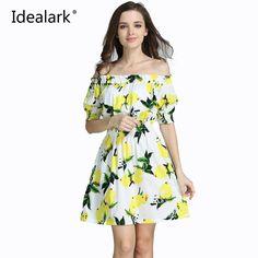 New 2017 plus size cotton Autumn summer Women Dress short Sleeve Casual sexy wide boat neck Dresses Vestidos WC0584