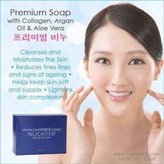 Nworld Nlighten Premium Soap with Collagen, Aloe Ver and Argan Oil