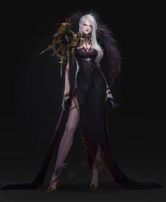 ART of jeon sohyun / sohyun_jeon Fantasy Female Warrior, Fantasy Armor, Female Art, Fantasy Art Women, Dark Fantasy Art, Fantasy Girl, Female Character Design, Character Design Inspiration, Character Art