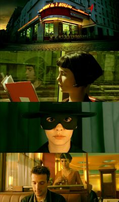 Amélie. One of my all time favs. Kooky and happy.