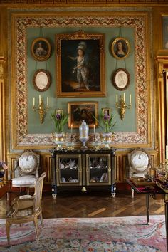 French decorator, Jacques Garcia's luxurious style in his Norman country retreat le Chateau du Champ de la Bataille