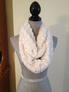 Luxury Plush Infinity Scarf in Winter White: $20.00   This scarf is made from a soft plush fabric that layers beautifully and feels gentle against the skin. It is also slightly longer than our regular infinity scarves. Winter White, Infinity, Layers, Feels, Scarves, Plush, Luxury, Fabric, Beauty